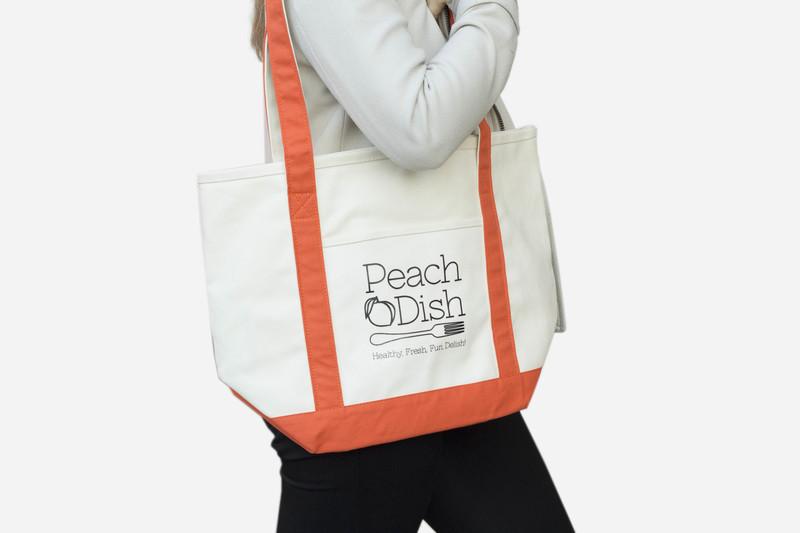 PeachDish Market Tote