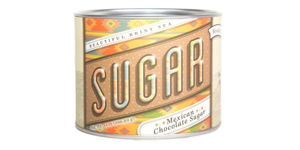 Beautiful Briny Mexican Chocolate Sugar