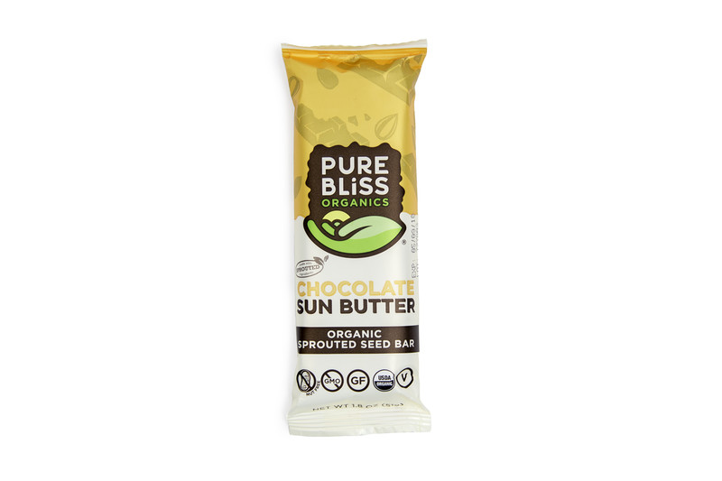 Pure Bliss Chocolate Sun Butter Sprouted Energy Bar