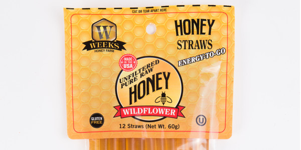 Weeks Honey Farm Wildflower Honey Sticks