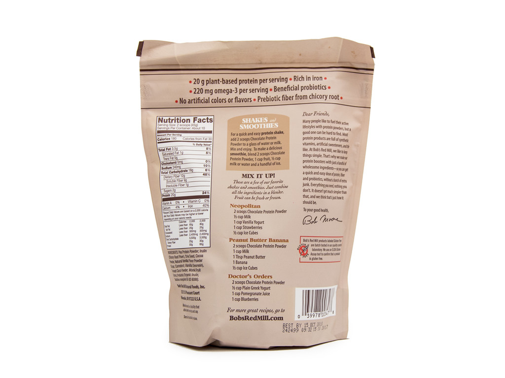 Bob's Red Mill Chocolate Nutritional Booster