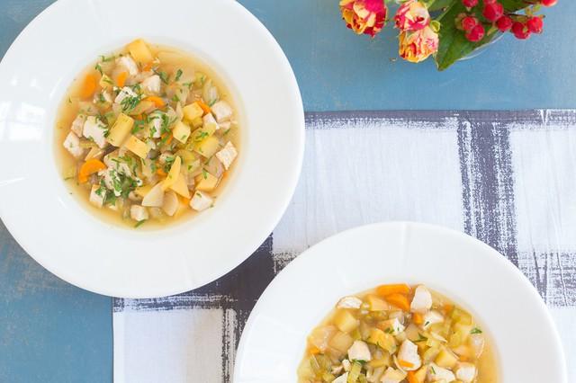 Chicken & Rutabaga Stew