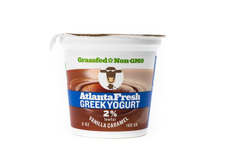 AtlantaFresh Artisan Creamery 6 oz Vanilla Caramel 2% Yogurt