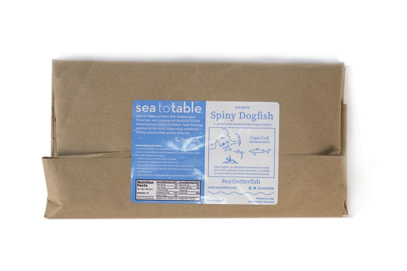 Sea to Table 12 oz. Dogfish Fillet