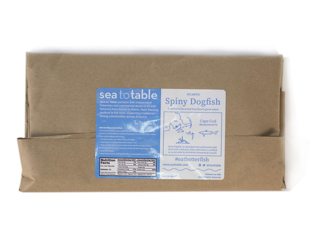 Sea to Table® 12 oz. Dogfish Fillet
