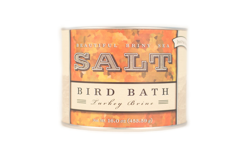 Bird Bath Turkey Brine