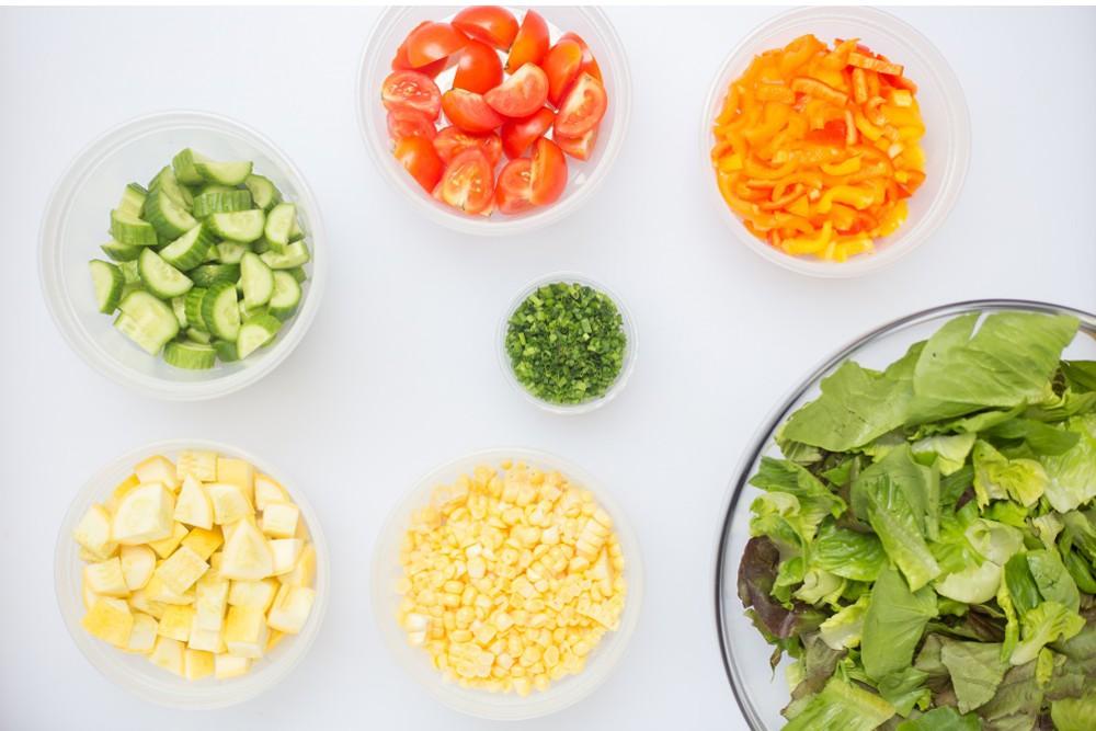 """Off-the-""""Cobb"""" Salad"""