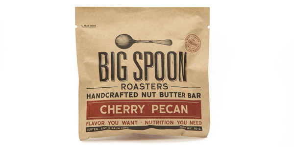 Big Spoon Roasters Cherry Pecan Nut Butter Bar