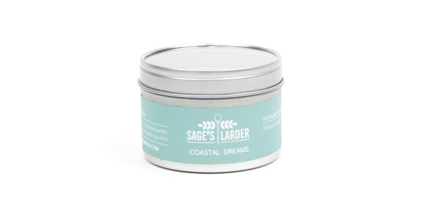 Sage's Larder Coastal Dreams Loose Leaf Tea Tin