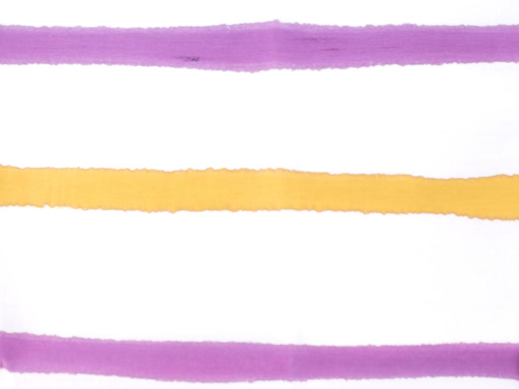 A Sensible Habit Cotton Tea Towel - Plum & Mustard