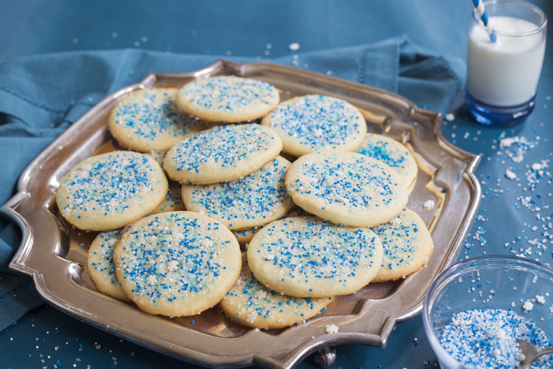 Winter Cookie Mix with Sprinkles