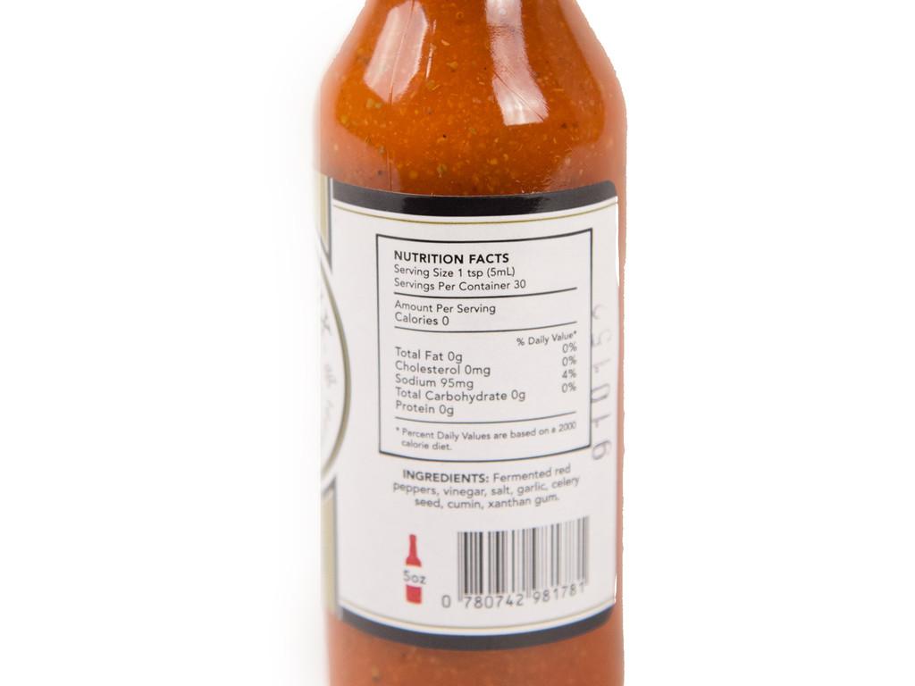 D'Evereux Pepper Sauce Fermenté 5oz