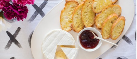 Sweetgrass Dairy Green Hill with Elderberry Jelly