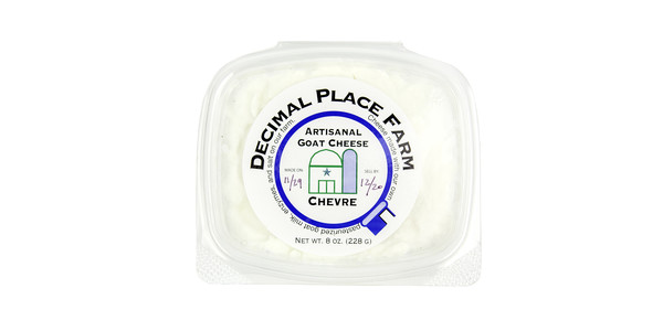 Decimal Place Farms Chevre