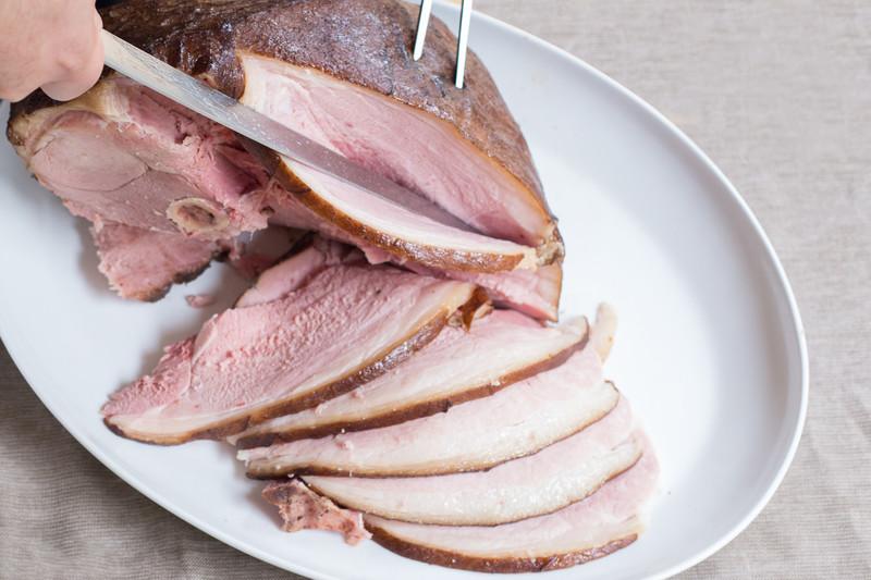 Sorghum & Cider-Cured Smoked Ham (8 lb)