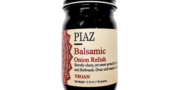 PIAZ Balsamic Onion Relish, 5 oz. jar