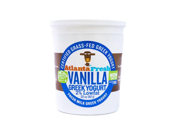 AtlantaFresh Artisan Creamery 32 oz Vanilla 2% Yogurt