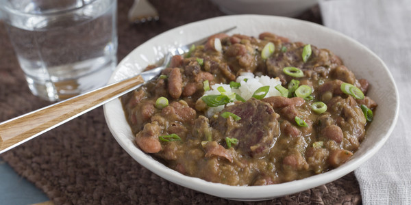 Pableaux Johnson's Red Beans & Rice
