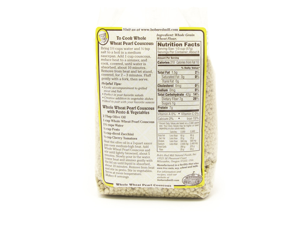 Bob's Red Mill Whole Wheat Pearl Couscous