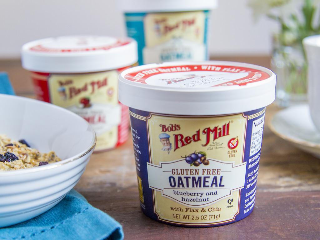 Bob's Red Mill Blueberry Hazelnut Gluten Free Oatmeal Cup