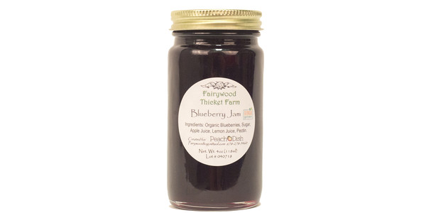 Fairywood Thicket Farm, Blueberry Jam