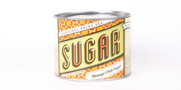 Beautiful Briny Sea Orange Chili Sugar