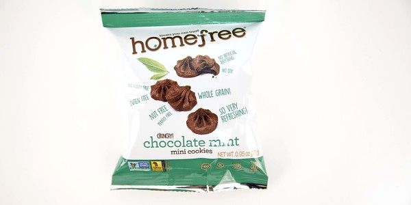 Homefree Chocolate Mint Cookies