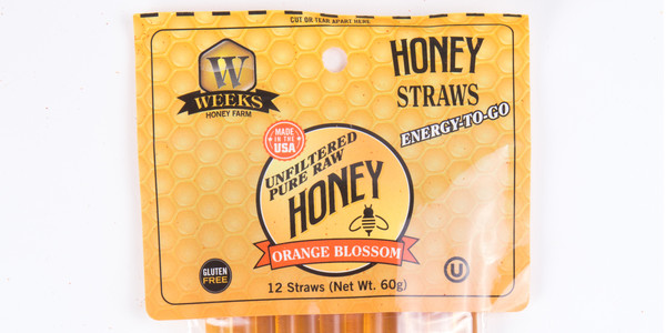 Weeks Honey Farm Orange Blossom Honey Sticks