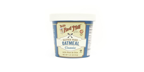 Bob's Red Mill Classic Gluten Free Oatmeal Cup