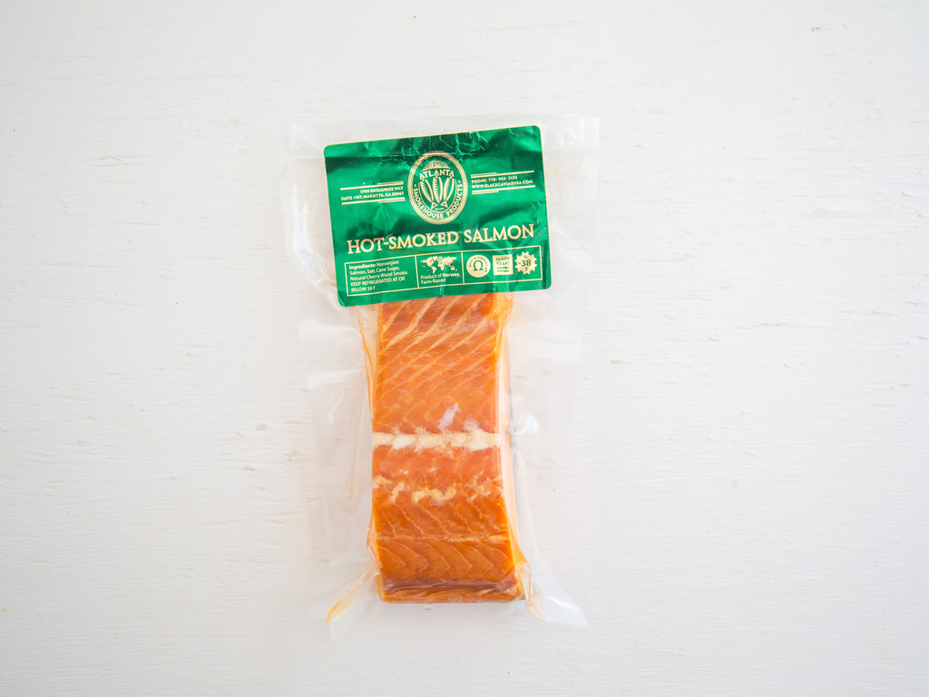 Atlanta Smokehouse Hot Smoked Wild Salmon 6oz
