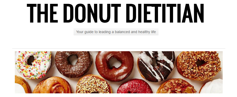 THE DONUT DIETITIAN