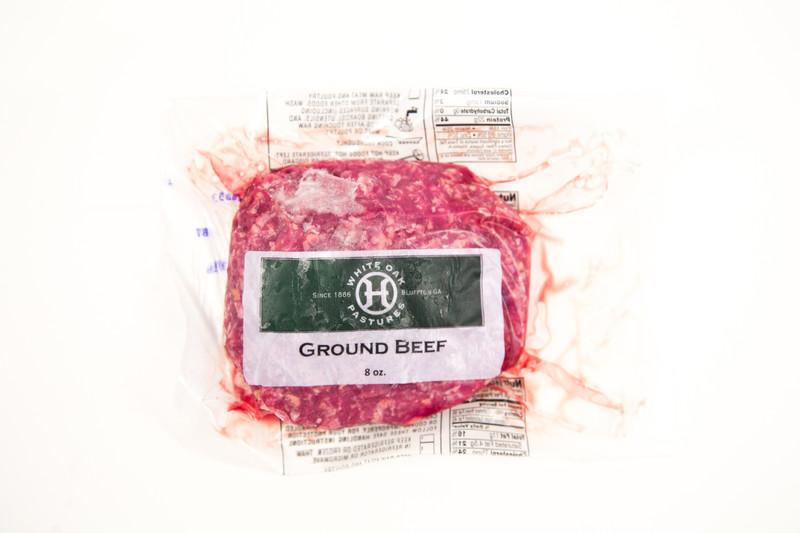 White Oak Pastures Ground Beef 8oz