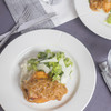 Virginia Willis' Smothered & Covered Chicken with Herb Grits and Celery Salad
