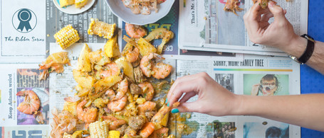 All-in-one Low Country Kit: Low Country Shrimp Boil & RWB Tartlet