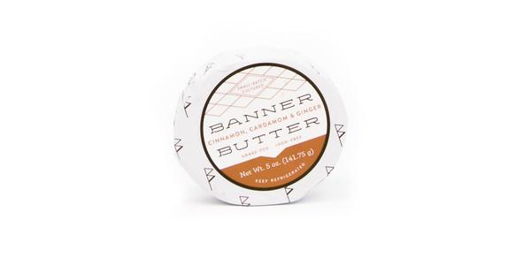 Banner Butter 5 oz. Cinnamon, Cardamom & Ginger Butter