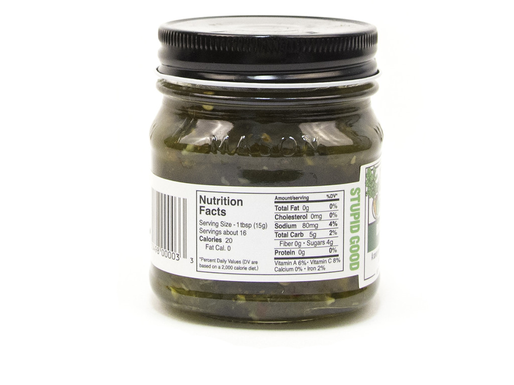 Doux South Dueling Peppers Green Relish