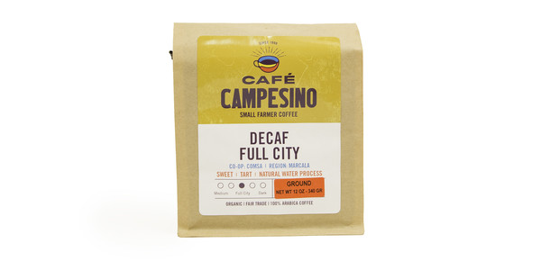 Cafe Campesino Decaf Full City Roast Coffee