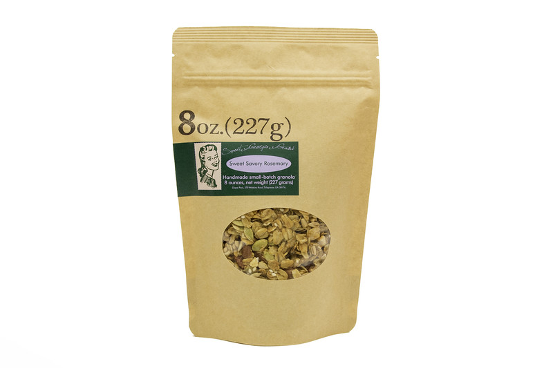 Sweet Georgia Grains Sweet Savory Rosemary Granola