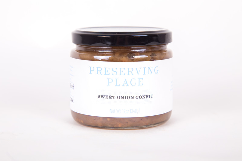 Preserving Place Sweet Onion Confit