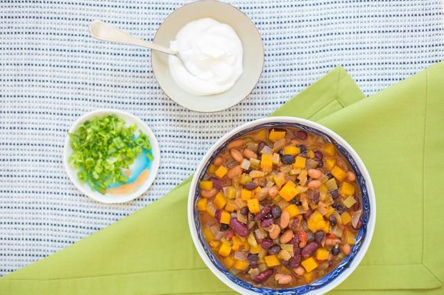 Butternut Squash & Three-Bean Superfood Chili