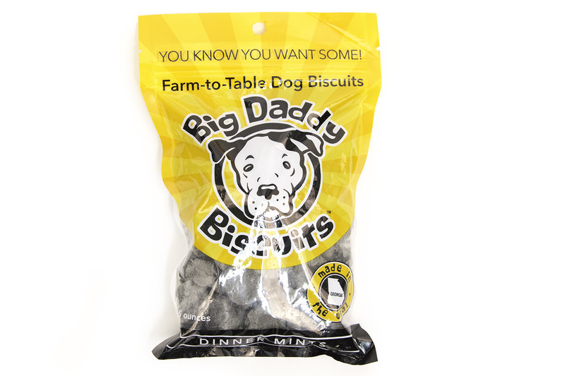 Big Daddy Dog Biscuits All-Natural Dinner Mints Dog Breath Biscuits