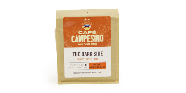 Cafe Campesino Dark Side French Roast Coffee