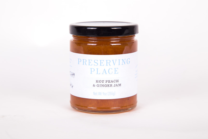 Preserving Place Hot Peach & Ginger Jam