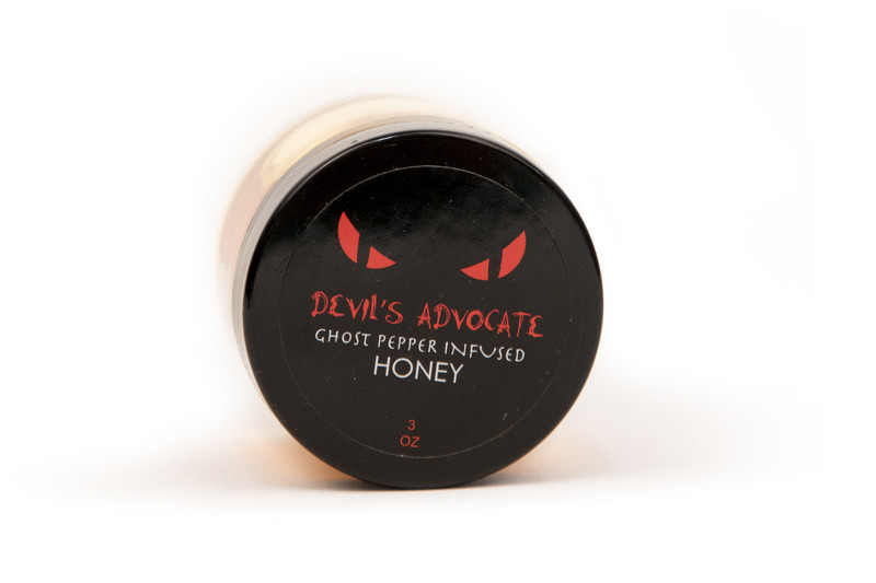 Bee Wild Devil's Advocate Ghost Pepper Infused Honey