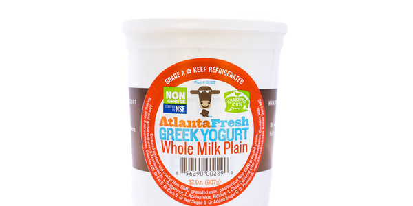 AtlantaFresh Artisan Creamery 32 oz Plain Whole Milk Yogurt