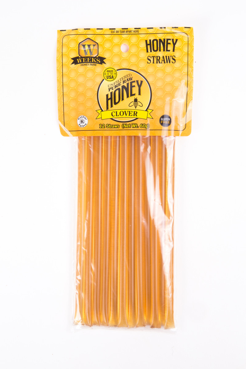 Weeks Honey Farm Clover Honey Sticks
